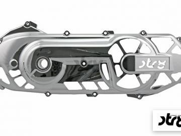 Variomatikdeckel STR8 Extreme Cut Chrom Minarelli liegend
