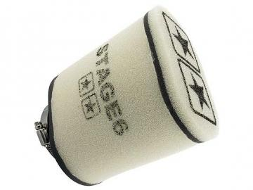Racingluftfilter Stage6 Double Layer Groß Weiss 70mm