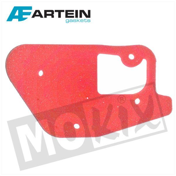 Luftfiltereinsatz Artein Rot für MBK Booster, Stunt, Yamaha Bw´s Slider
