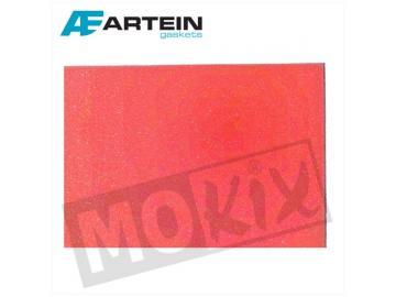 Luftfiltereinsatz Artein Rot 33x28x1,0