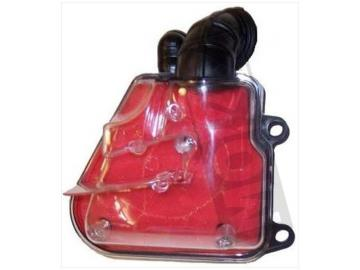 Luftfilterkasten Transparent Rote Filtermatte für Minarelli Motor