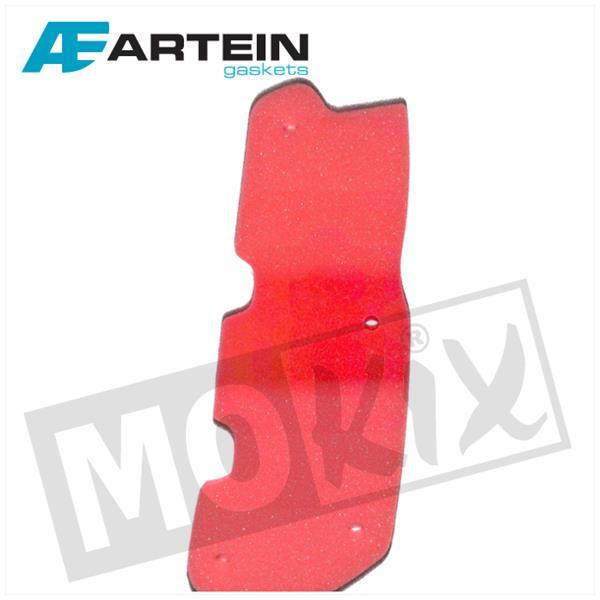 Luftfiltereinsatz Artein Rot für Peugeot Speedfight 3