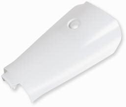 Batteriefach Deckel Weiß MBK Nitro / Yamaha Aerox