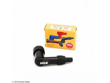 Zündkerzenstecker NGK 90° LB01F 8330 Schwarz