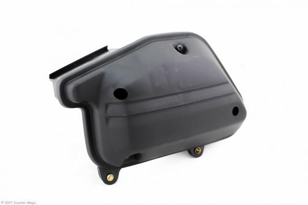 Luftfilterkasten Schwarz für Stehende Minarelli Motoren