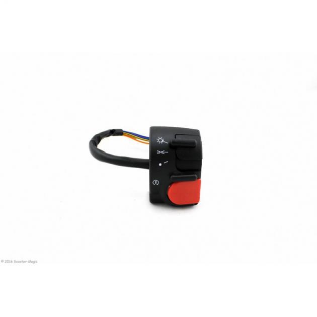 Schaltereinheit Rechts für MBK Nitro & Yamaha Aerox bis 02