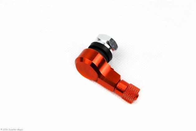 CNC Alu Reifenventil 90°