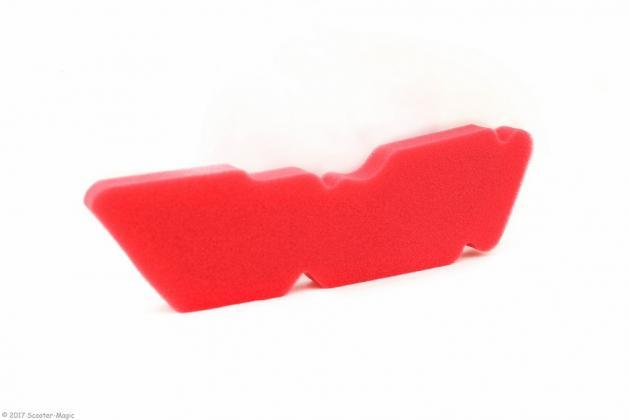 Luftfiltereinsatz Artein Rot für Piaggio
