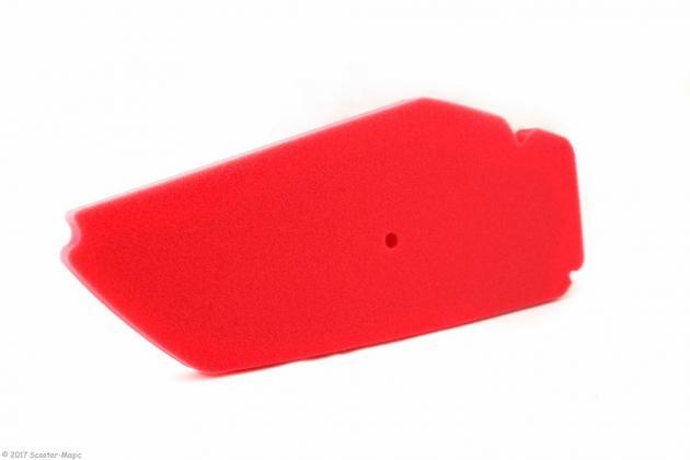 Luftfiltereinsatz Artein Rot für Piaggio Sfera 91-94