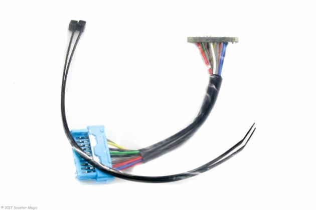Adapter für KOSO Tacho MBK Nitro / Yamaha Aerox Sondermodelle