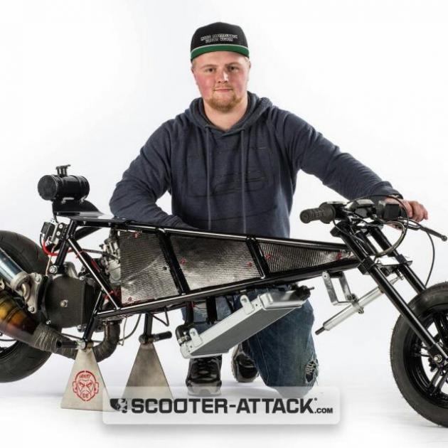 Joshua Team Scooter-Magic