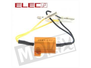 Widerstand 25W / 6,8 Ohm für LED Blinkerbirnen und Blinker