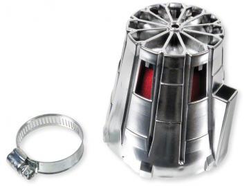 Luftfilter R-Evolution Chrom 0° 28-35mm