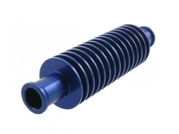 Durchlaufkühler SP Rund 17mm Blau
