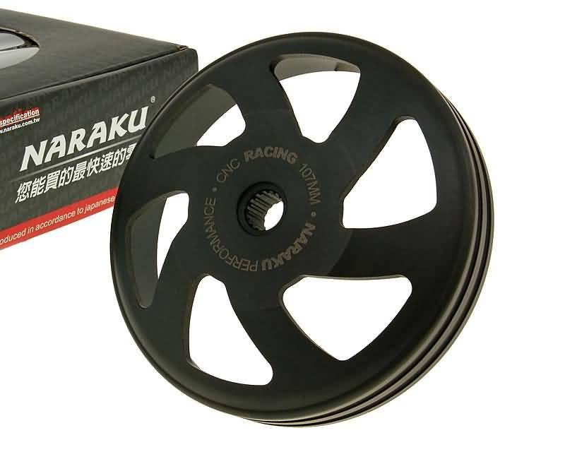 Kupplungsglocke Naraku V.2 CNC 107mm Minarelli