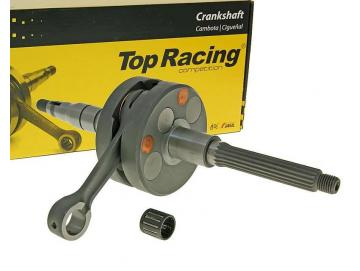Kurbelwelle Top Racing / Jasil Evo NG Next Generation 12mm Minarelli Liegend