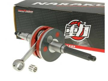 Kurbelwelle Naraku Racing HPC 10mm für Minarelli liegend