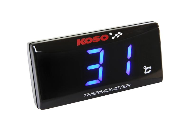 Temperaturmesser Koso Super Slim