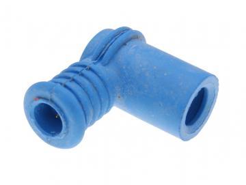 Zündkerzenstecker Polini kurz 90° Blau